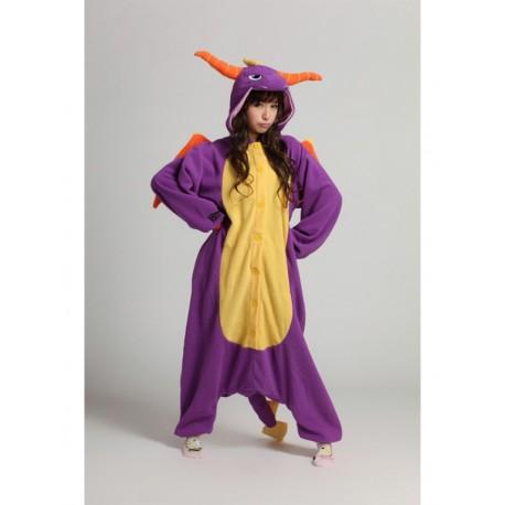 Grenouillère Dragon Violet