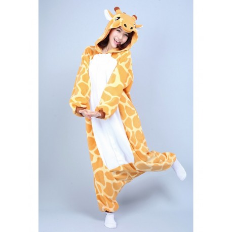 grenouill re girafe pour adulte homme femme pyjamas animaux rigolos kigurumi. Black Bedroom Furniture Sets. Home Design Ideas