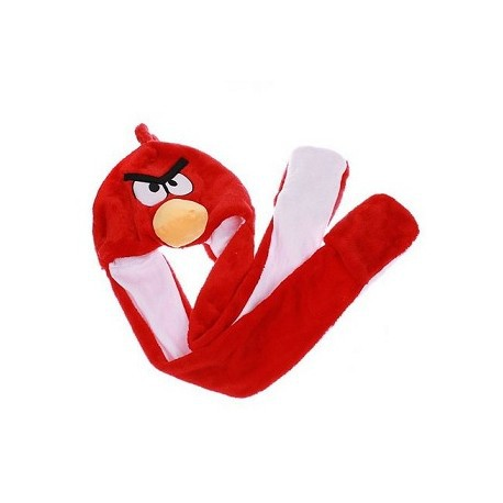 Bonnet Angry Bird Rouge