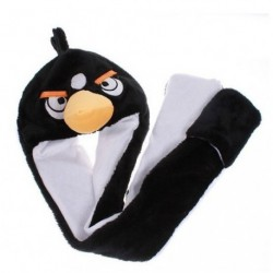 Bonnet Angry Bird Noir