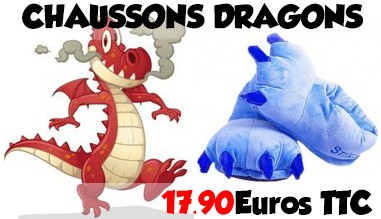Chaussons de dragons