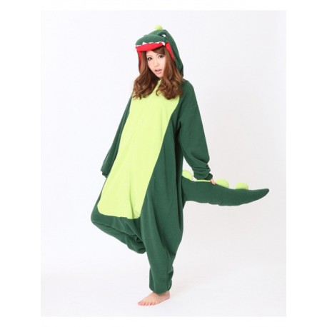 énorme réduction 96894 d8d32 Grenouillère Dragon Vert pour Adulte (Homme / Femme) | Pyjamas Animaux  Rigolos | Kigurumi