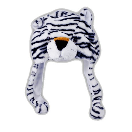 Bonnet Tigre Blanc