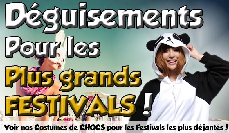 Costumes pour Festivaliers